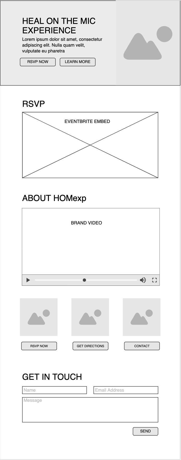 HOMexp Wireframe