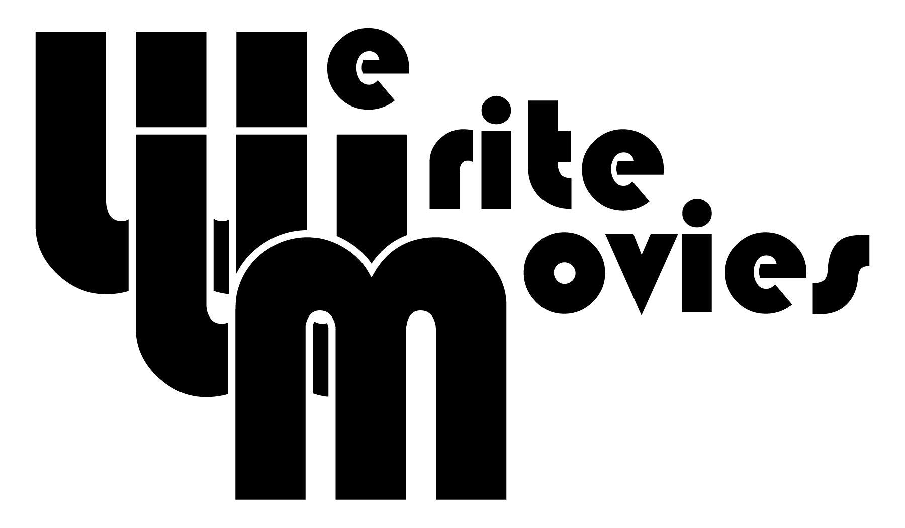 We Write Movies Logo Black