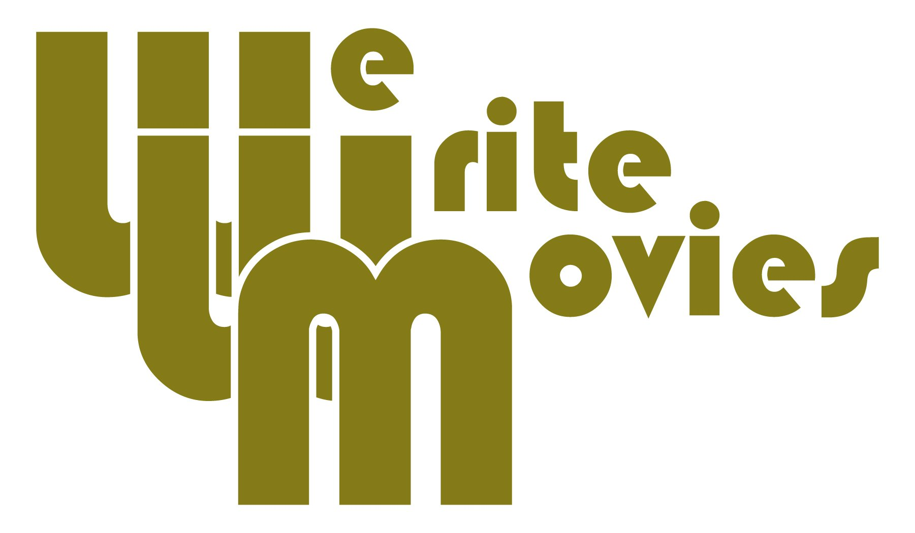 We Write Movies Logo Gold