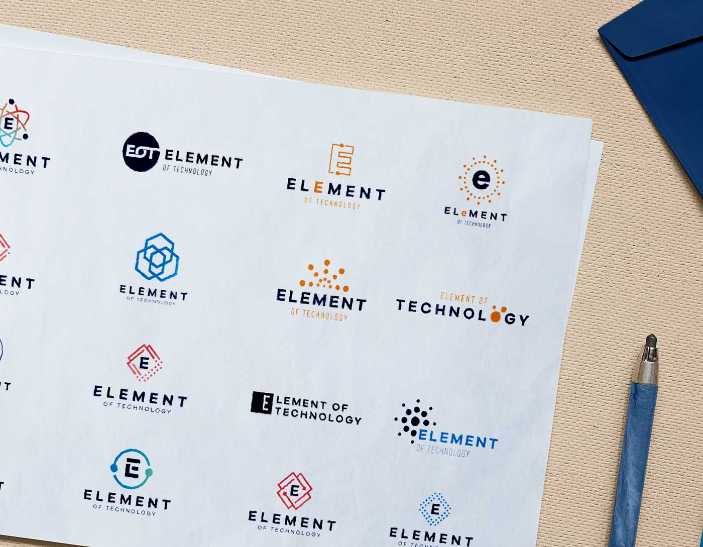 Element of Technology Logo Concept