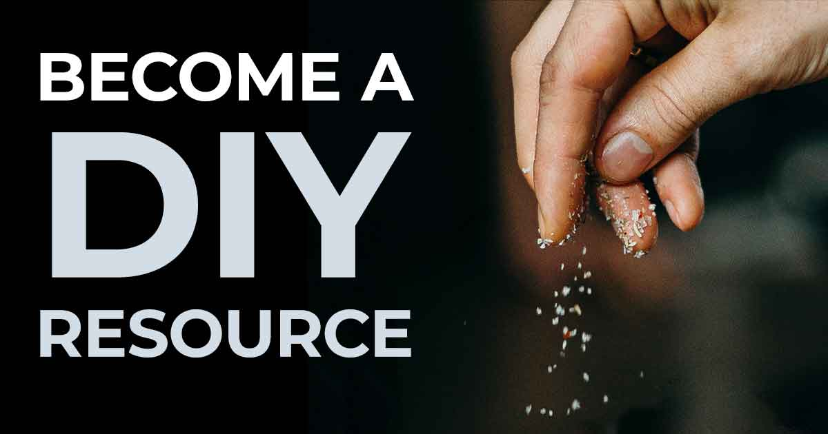 Become a DIY Resource